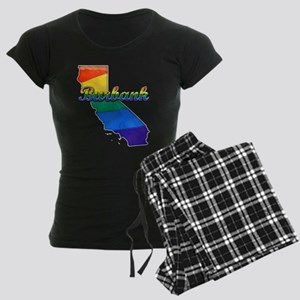 Burbank, California. Gay Pride Women's Dark Pajama