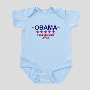 Obama for President Infant Bodysuit