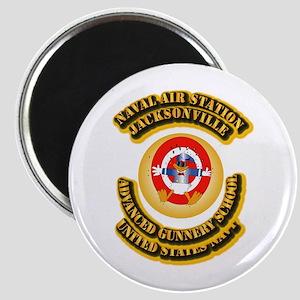 US - NAVY - NAS - Jacksonville Magnet