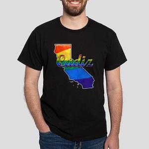 Cadiz, California. Gay Pride Dark T-Shirt
