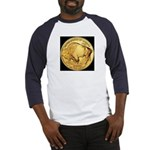 Black-Gold Buffalo-Indian Baseball Jersey