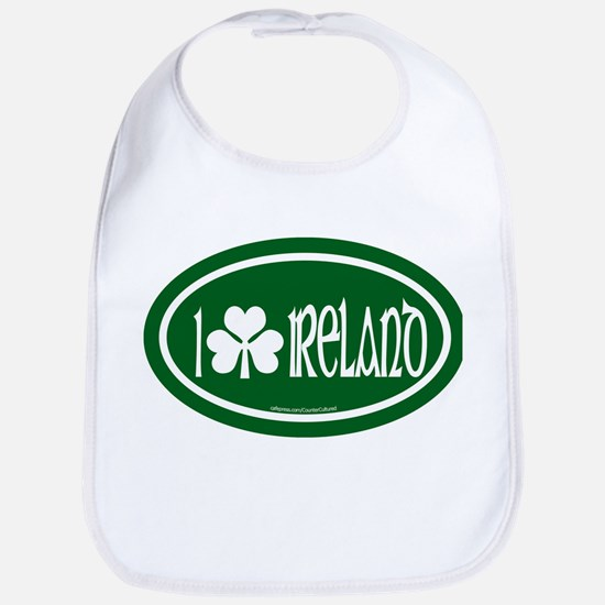 I Love Ireland 2 Bib