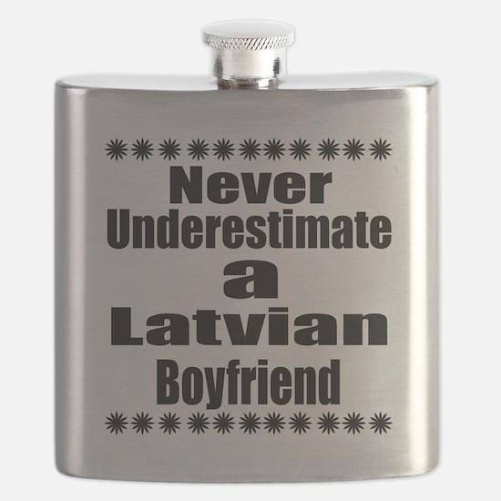 Never Underestimate A Latvian Boyfriend Flask