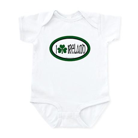 I Love Ireland 2 Infant Creeper