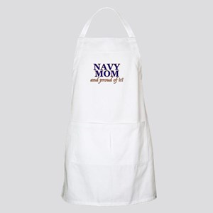 Navy Mom & proud of it! BBQ Apron