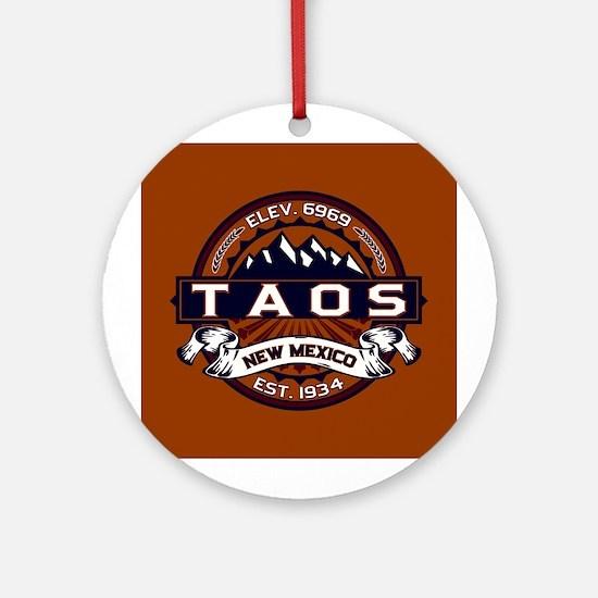 Taos Vibrant Ornament (Round)