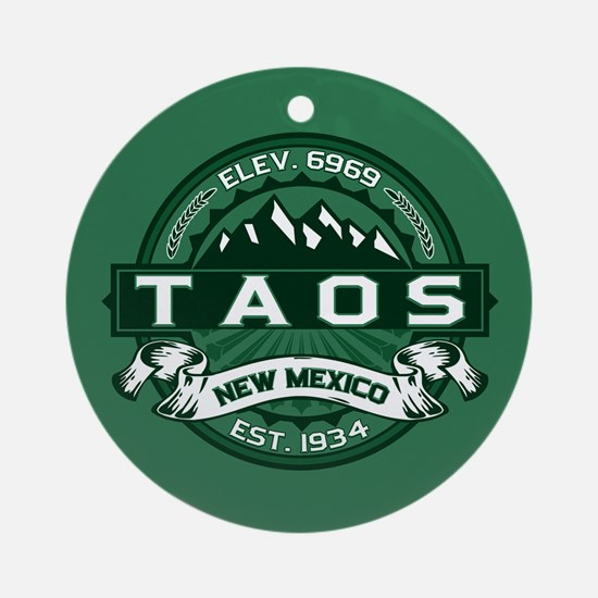 Taos Forest Ornament (Round)