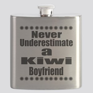 Never Underestimate A Kiwi Boyfriend Flask
