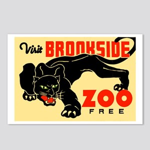 Brookside Zoo WPA Poster Postcards (Package of 8)