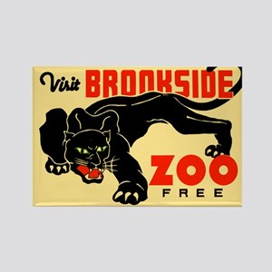 Brookside Zoo WPA Poster Rectangle Magnet