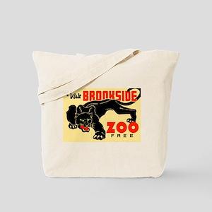 Brookside Zoo WPA Poster Tote Bag