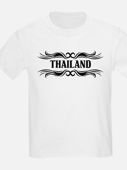 Tribal Thailand Kids T-Shirt