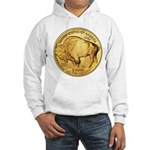 Wy-Gold Buffalo-Indian Hooded Sweatshirt
