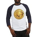 Wy-Gold Buffalo-Indian Baseball Jersey