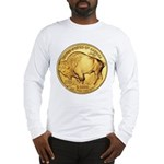 Wy-Gold Buffalo-Indian Long Sleeve T-Shirt
