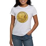 Wy-Gold Indian/Buffalo Women's T-Shirt