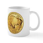 Wy-Gold Indian/Buffalo Mug