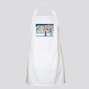 Army of Snowmen Apron