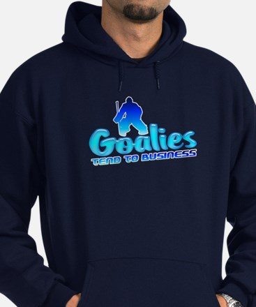 Ice Hockey Goalie Hoodie (dark)