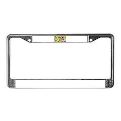 Summer License Plate Frame
