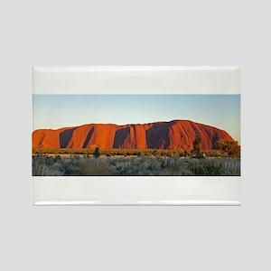 Uluru 2 Rectangle Magnet