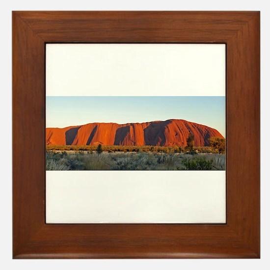 Uluru 2 Framed Tile