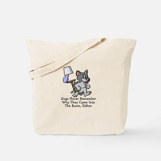 Running Dog Tote Bag