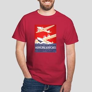 NYC Airports Dark T-Shirt