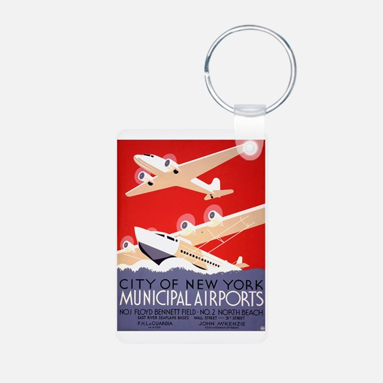 NYC Airports Keychains
