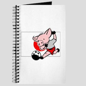 Japan Soccer Pigs Journal