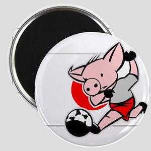 Japan Soccer Pigs Magnet