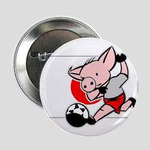 Japan Soccer Pigs Button