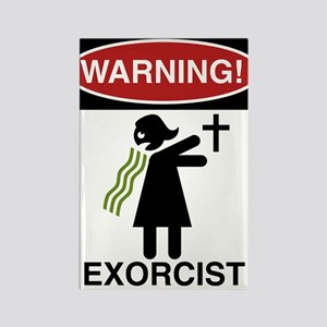 The Exorcist Rectangle Magnet