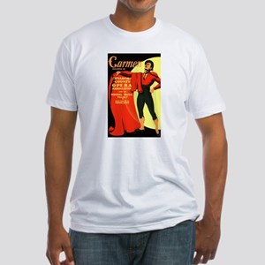 Carmen Opera Poster Fitted T-Shirt