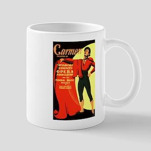 Carmen Opera Poster Mug