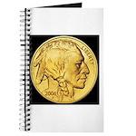 Black-Gold Indian Head Journal