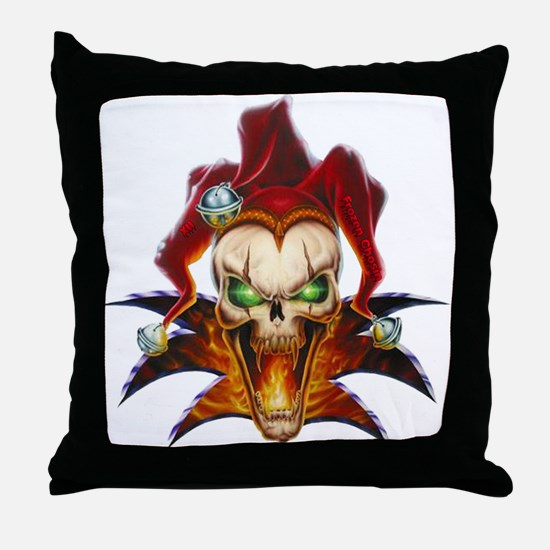 Joker Throw Pillow