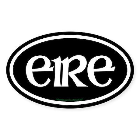 Eire Euro Oval Sticker