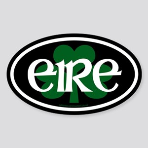 Eire Euro Oval Sticker