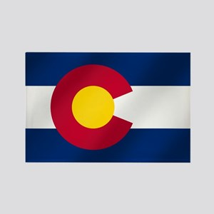 Flag Of Colorado Magnets