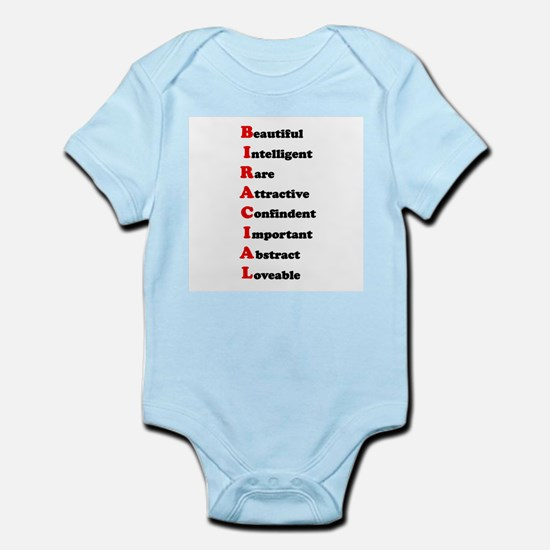 Biracial Pride Infant Creeper