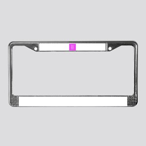 Photo template customized License Plate Frame