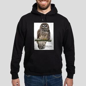 Northern Spotted Owl Hoodie (dark)