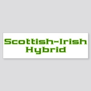 Scottish Irish Hybrid Bumper Sticker