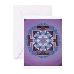 Saturn Yantra Cards (6) (for nr.8 people
