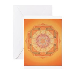 Sun Yantra Cards (6) (for nr.1 people)
