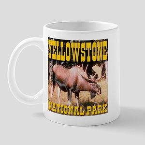 Yellowstone National Park Moo Mug