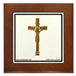 St Mary's Cross Framed Tile