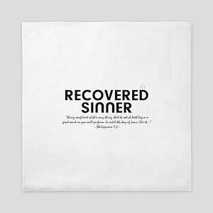 Recovered Sinner Queen Duvet