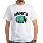 Kazakhstan White T-Shirt